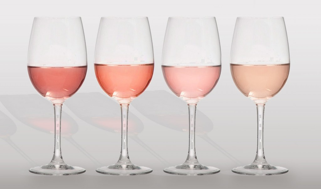 rose-wine-glasses